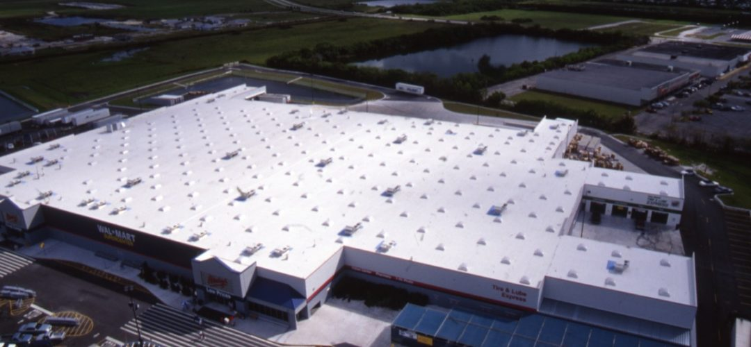 Walmart Thermoset Roofing