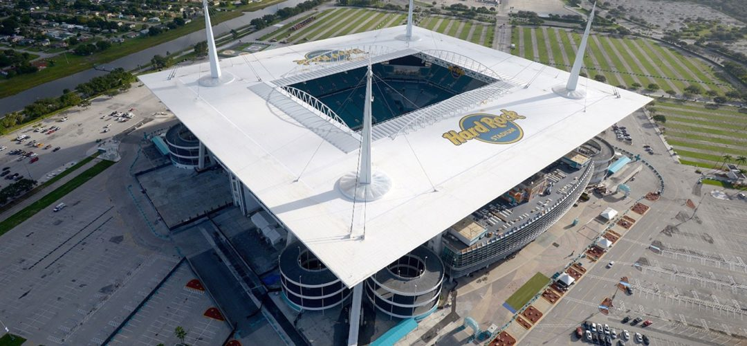 Hard Rock Stadium Miami Dolphins Thermoset Roofing